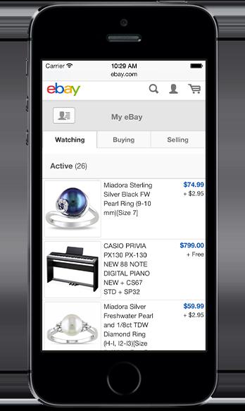 Web My eBay