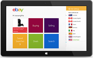 Windows 8 My eBay